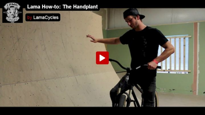 Lama How-to: The Handplant